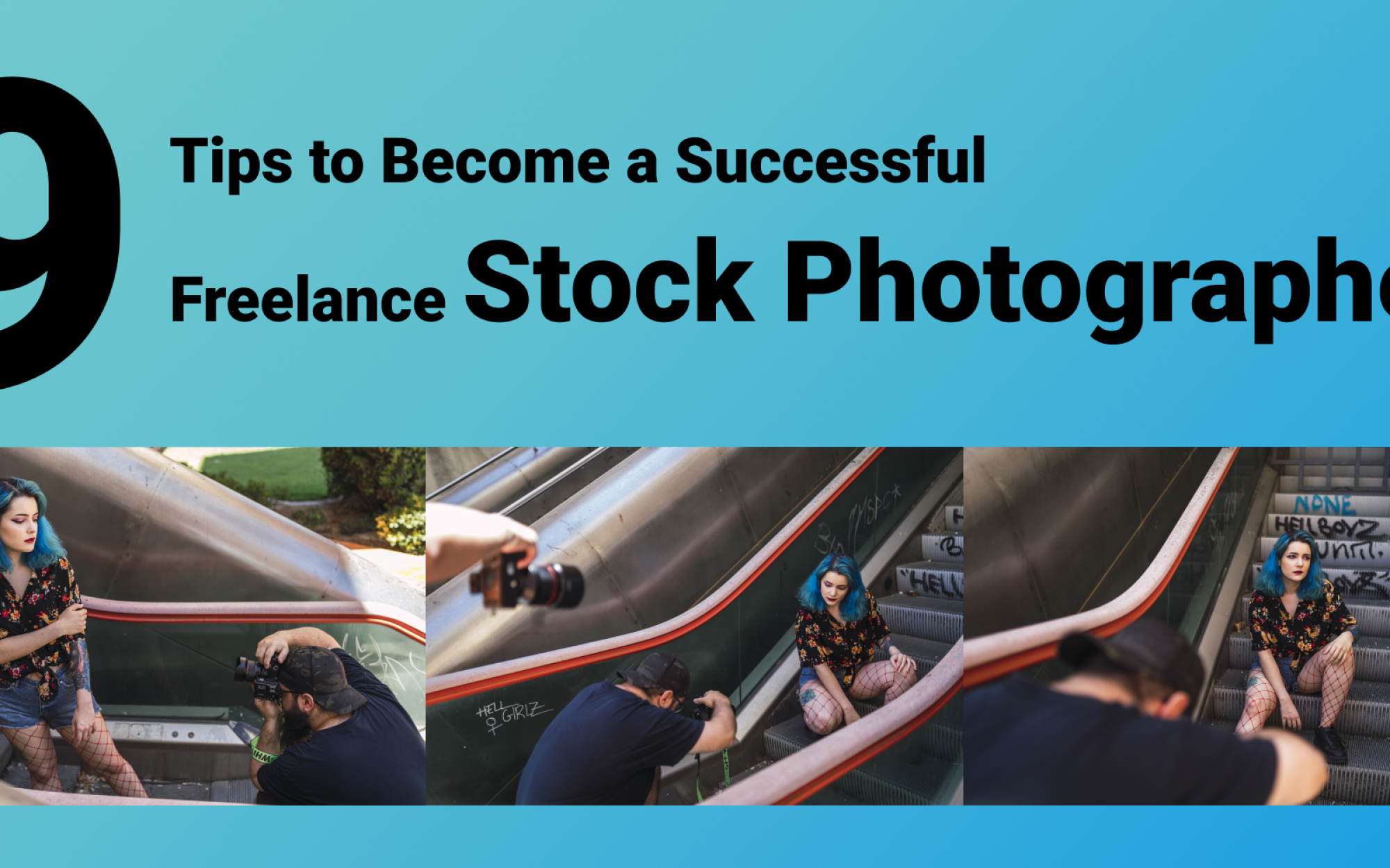 9 tips to Become a Successful Freelance Stock Photographer